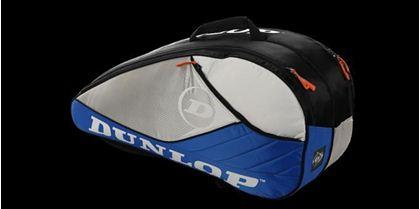 Obrázek z Tenisový bag Aerogel 4D 6 Racket Thermo, modro-bílo-černá