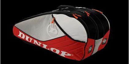 Obrázek z Tenisový bag Aerogel 4D 10 Racket Thermo, červeno-bílo-černá