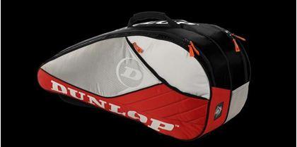 Obrázek z Tenisový bag Aerogel 4D 6 Racket Thermo, červeno-bílo-černá