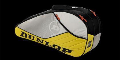 Obrázek z Tenisový bag Aerogel 4D 6 Racket Thermo, žluto-bílo-černá