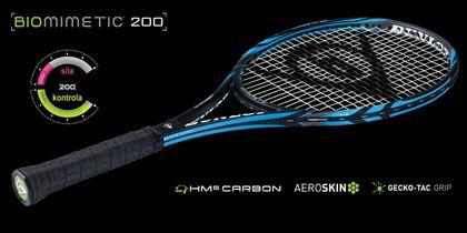Obrázek z Tenisová raketa Dunlop BIOMIMETIC 200 Tour