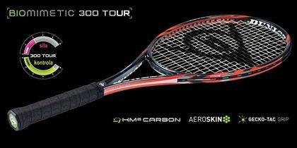 Obrázek z Tenisová raketa Dunlop BIOMIMETIC 300 Tour