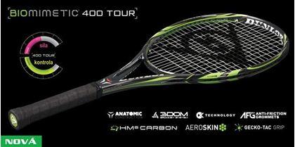 Obrázek z Tenisová raketa Dunlop BIOMIMETIC 400 Tour