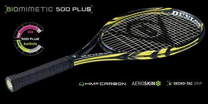 Obrázek z Tenisová raketa Dunlop BIOMIMETIC 500 Plus